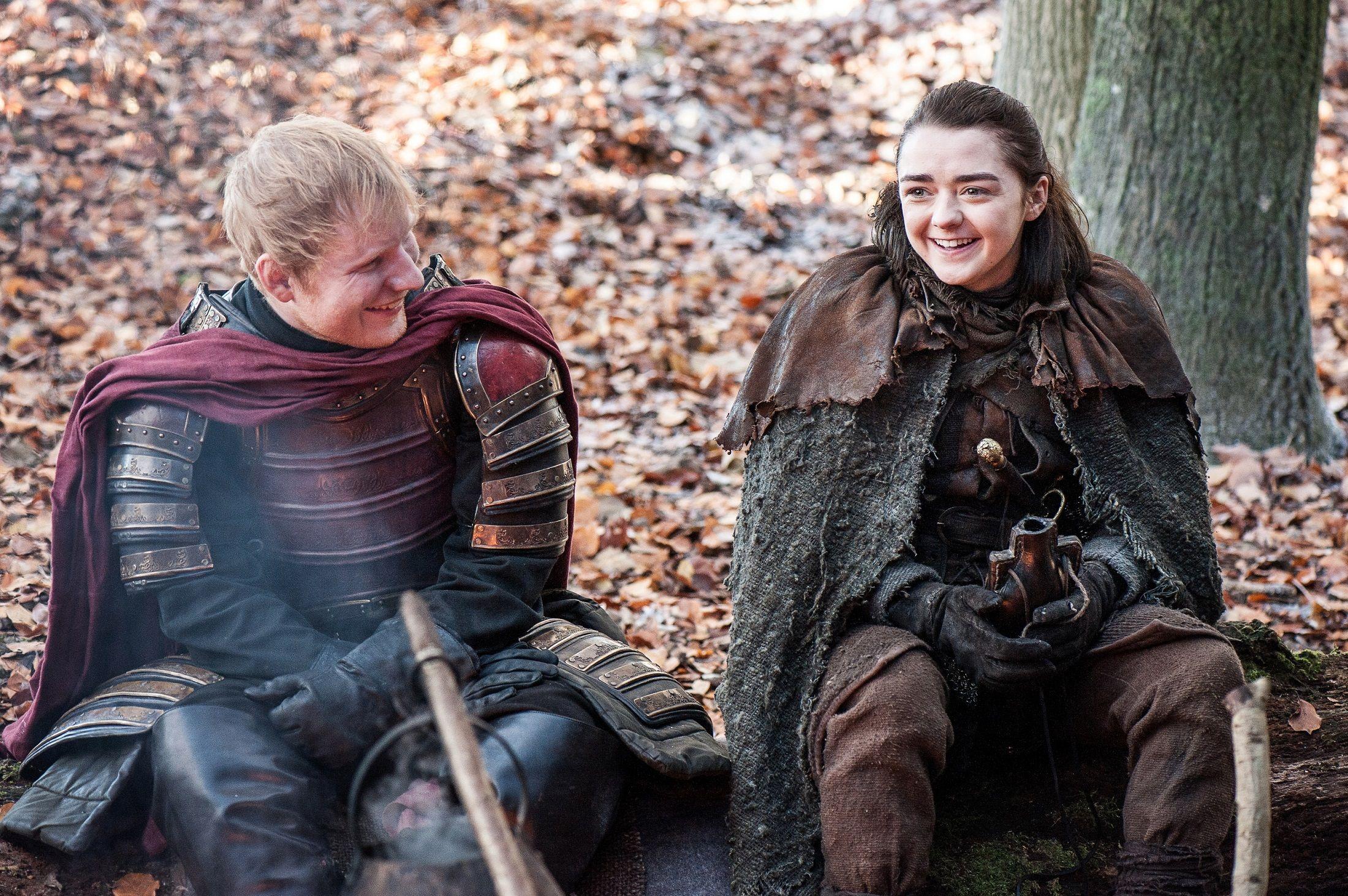 Game Of Thrones Season 7 Premiere Dragonstone Recap Ed Sheeran