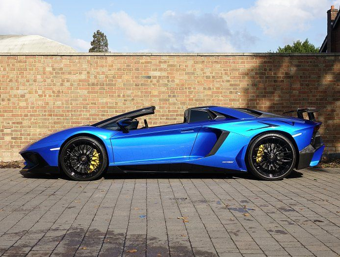 2016 66 lamborghini aventador sv roadster for sale blue nethuns automobiles pinterest. Black Bedroom Furniture Sets. Home Design Ideas