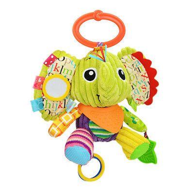 Helen115 Lovely Newborn Baby Girl Boy Plush Toys Stuffed Cartoon Animals Soft Cotton Toy Gifts