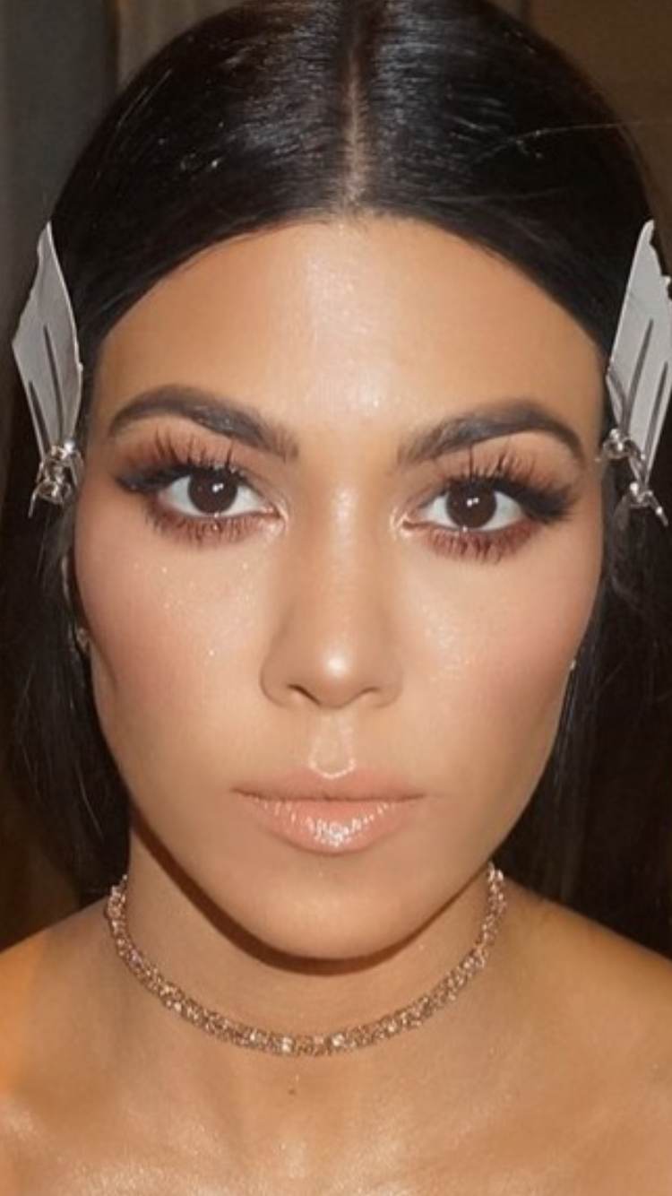 kourtney kardashian makeup lady like pinterest makeup