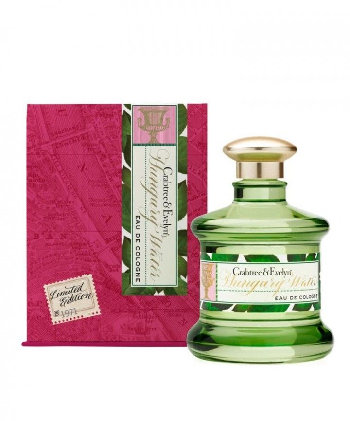 Crabtree Evelyn Hungary Water Eau De Cologne Eau De Cologne