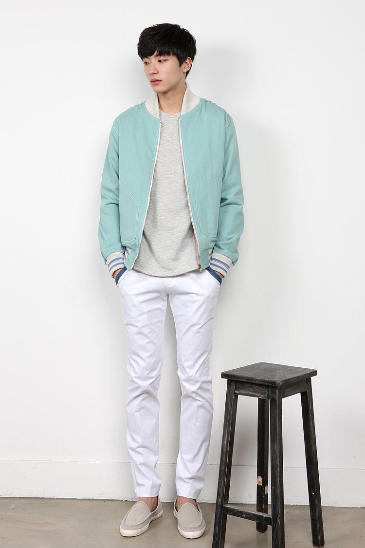 Baseball Jacket Menstyle Menfashion Koreanfashion With Images Korean Fashion Casual Korean Fashion Summer Casual Korean Fashion Men