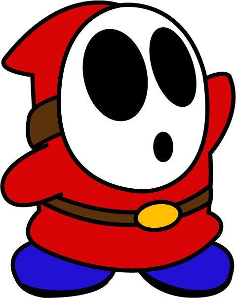 Shy Guy Shy Guy Mini Canvas Art Guy Drawing