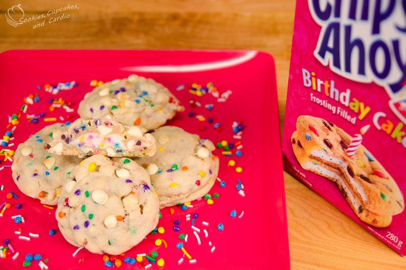 Astounding Frosting Filled Birthday Cake Cookies Cookies Cupcakes And Birthday Cards Printable Trancafe Filternl