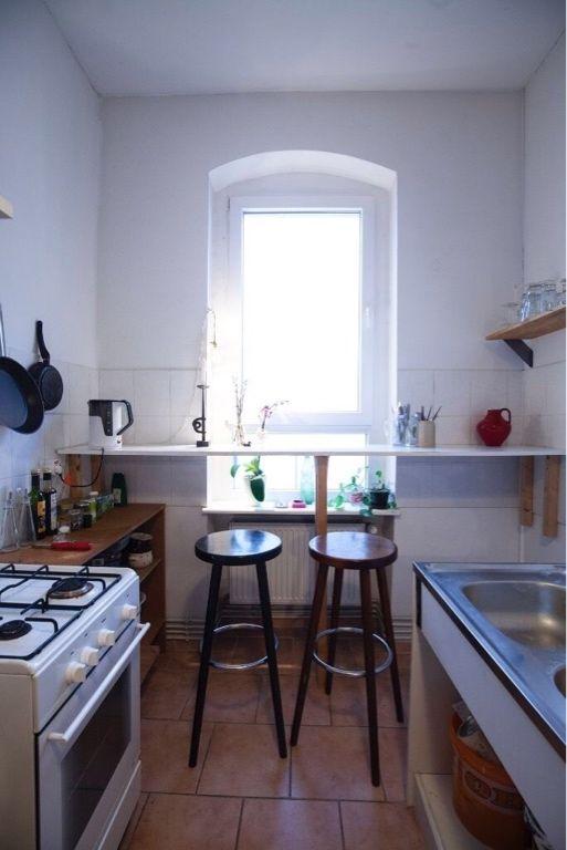Küche Altbau gemütliche sitzgelegenheit in berliner altbauküche altbau küche