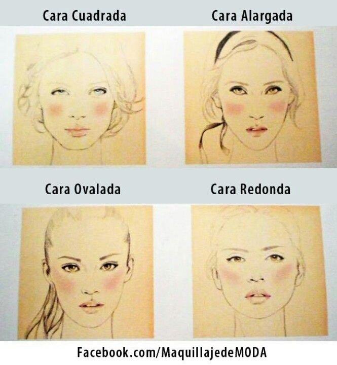 Maquillaje para pomulos