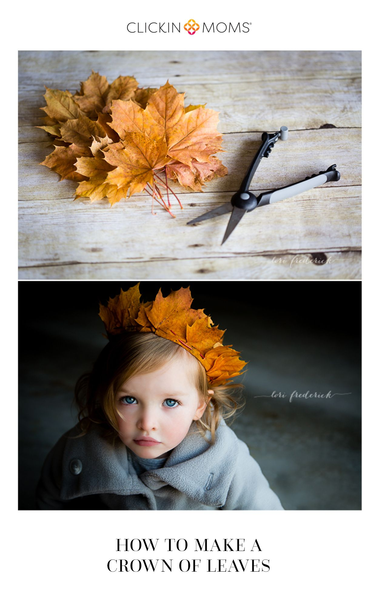 how to make a crown of leaves | photography and photos
