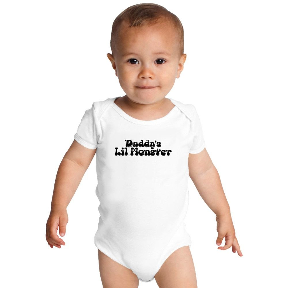 e49cda26 Daddy's Lil Monster Baby Onesies - Kidozi.com | Products | Onesies ...