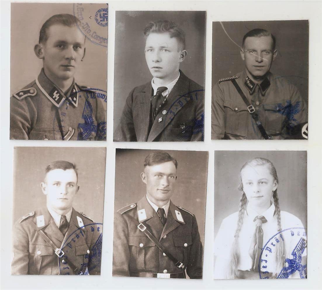 Фото на документы 6 шт. Германия 3 Рейх.   Wwi, History, Wwii