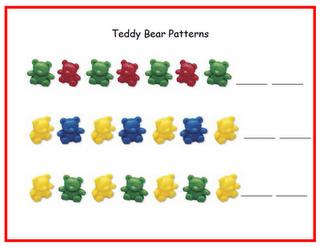 teddy bear math mats math mats fall math centers. Black Bedroom Furniture Sets. Home Design Ideas