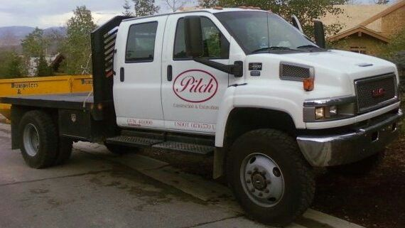 Pilch Construction And Excavation Top Kick 4500 Gmc Work Truck