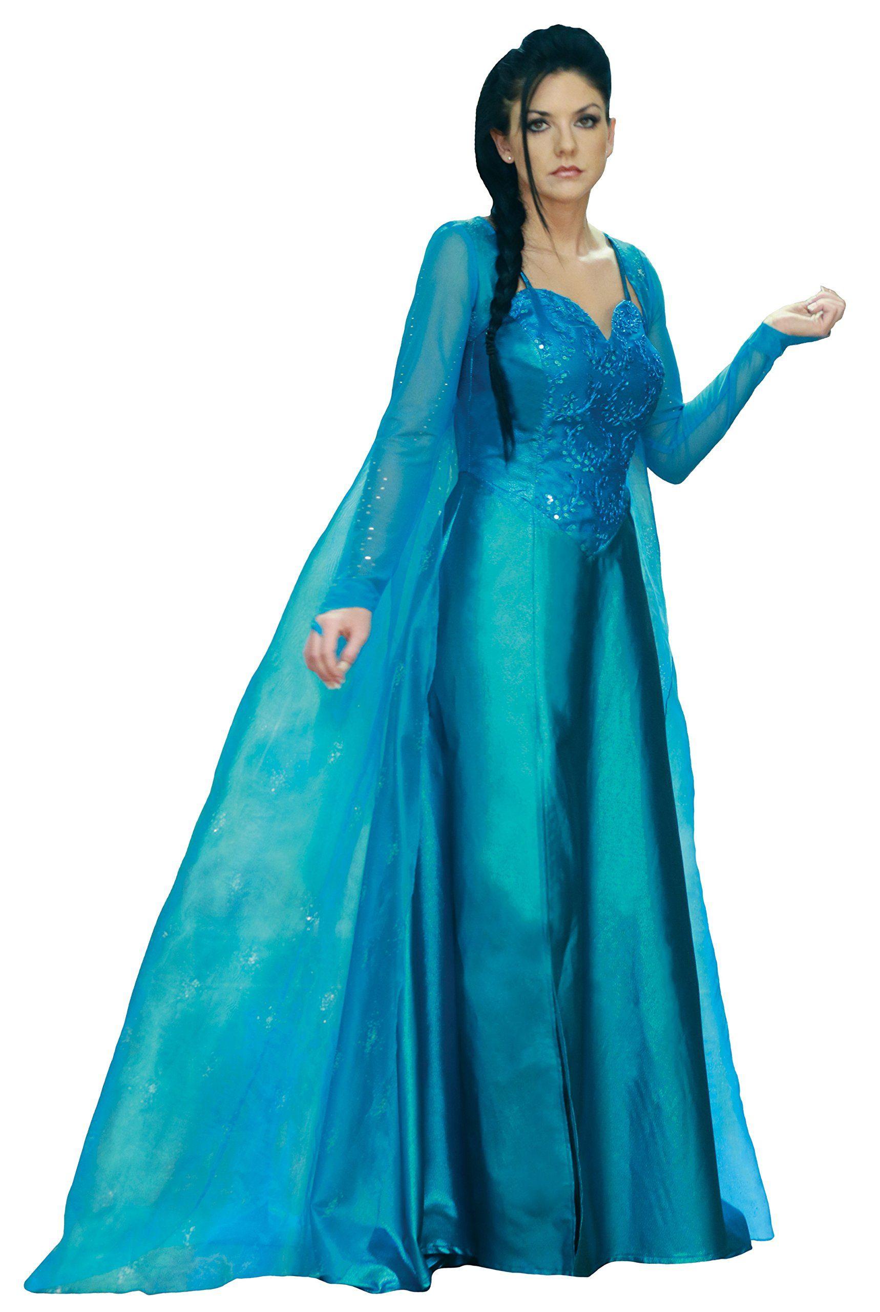 Amazon.com: Ice Princess Costume: Clothing | Ice fairy dress ...
