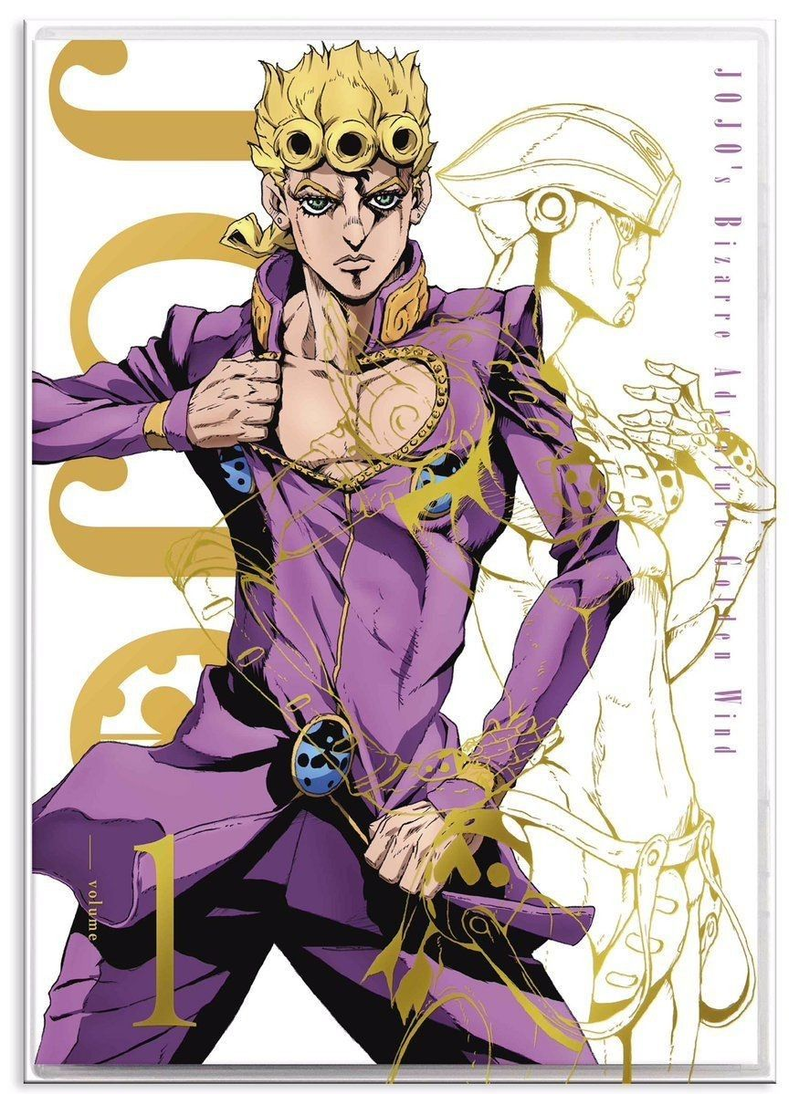 Giorno Giovanna Gold Experience Jojo Parts Jojo Bizzare Adventure Jojo Anime
