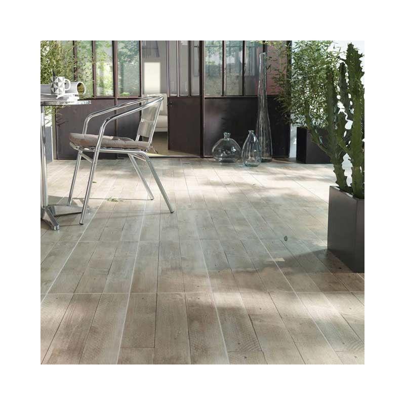 Carrelage extérieur effet bois en grès cérame émaillé, conçu - carrelage terrasse exterieur imitation bois
