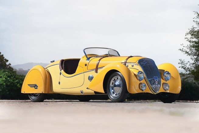 1938 Peugeot 402 Darl'mat Legere Special Sport Roadster