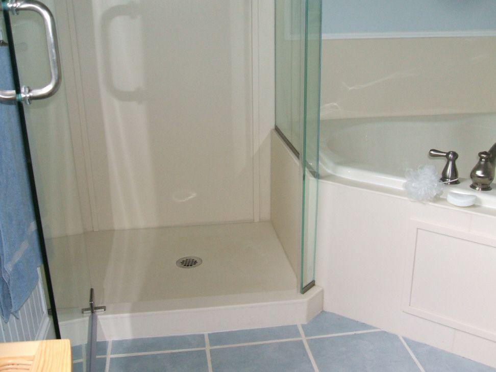 tileable shower base pan