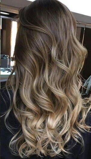45 Neueste heißeste Frisuren und Farben für langes Haar, #darkhairstyleswithbangs #Farben #F...