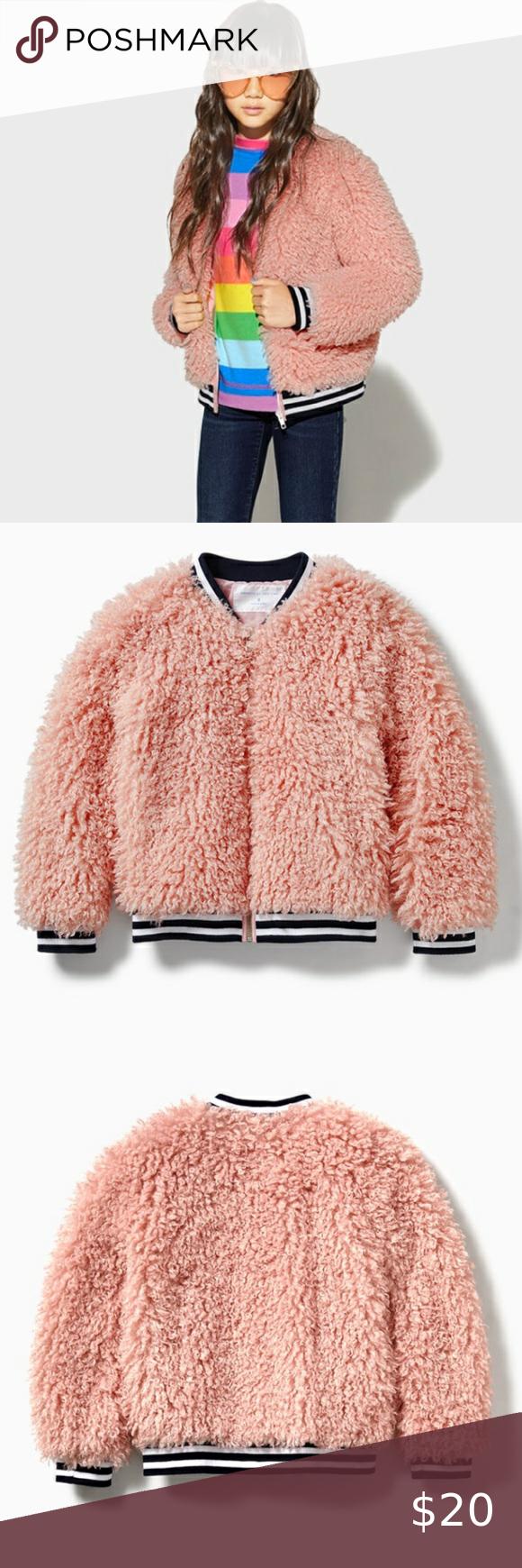 Fuzzy Bomber Jacket Clothes Design Bomber Jacket Fashion [ 1740 x 580 Pixel ]