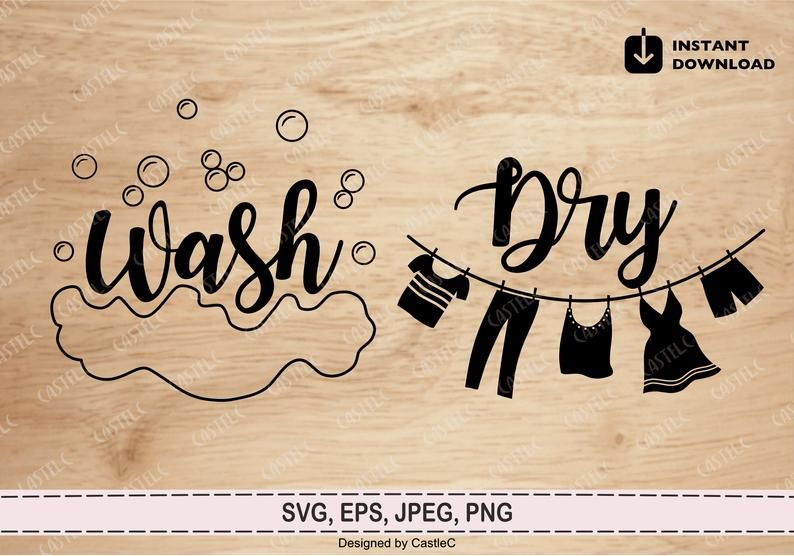 44++ Wash and dry svg trends
