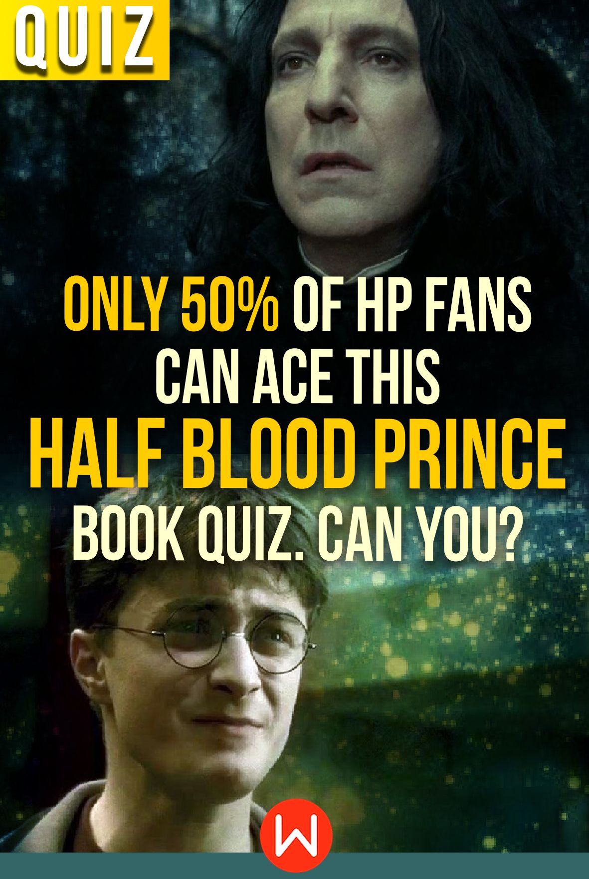 Only 50% Of HP Fans Can Ace This
