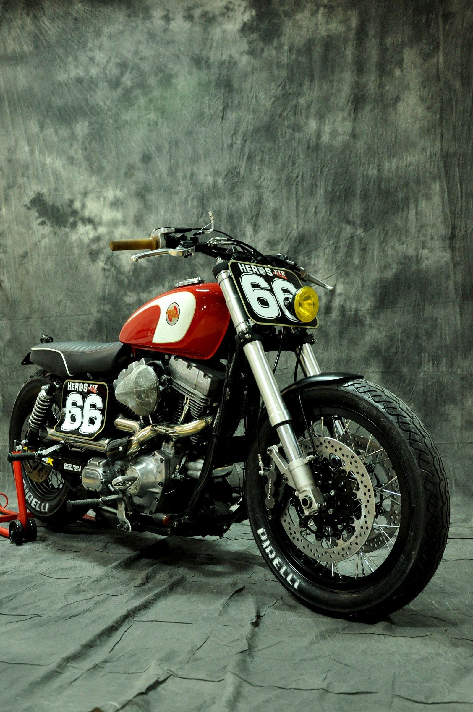 Harley Davidson Dyna Cafe Racer 1 Harleydavidsondyna