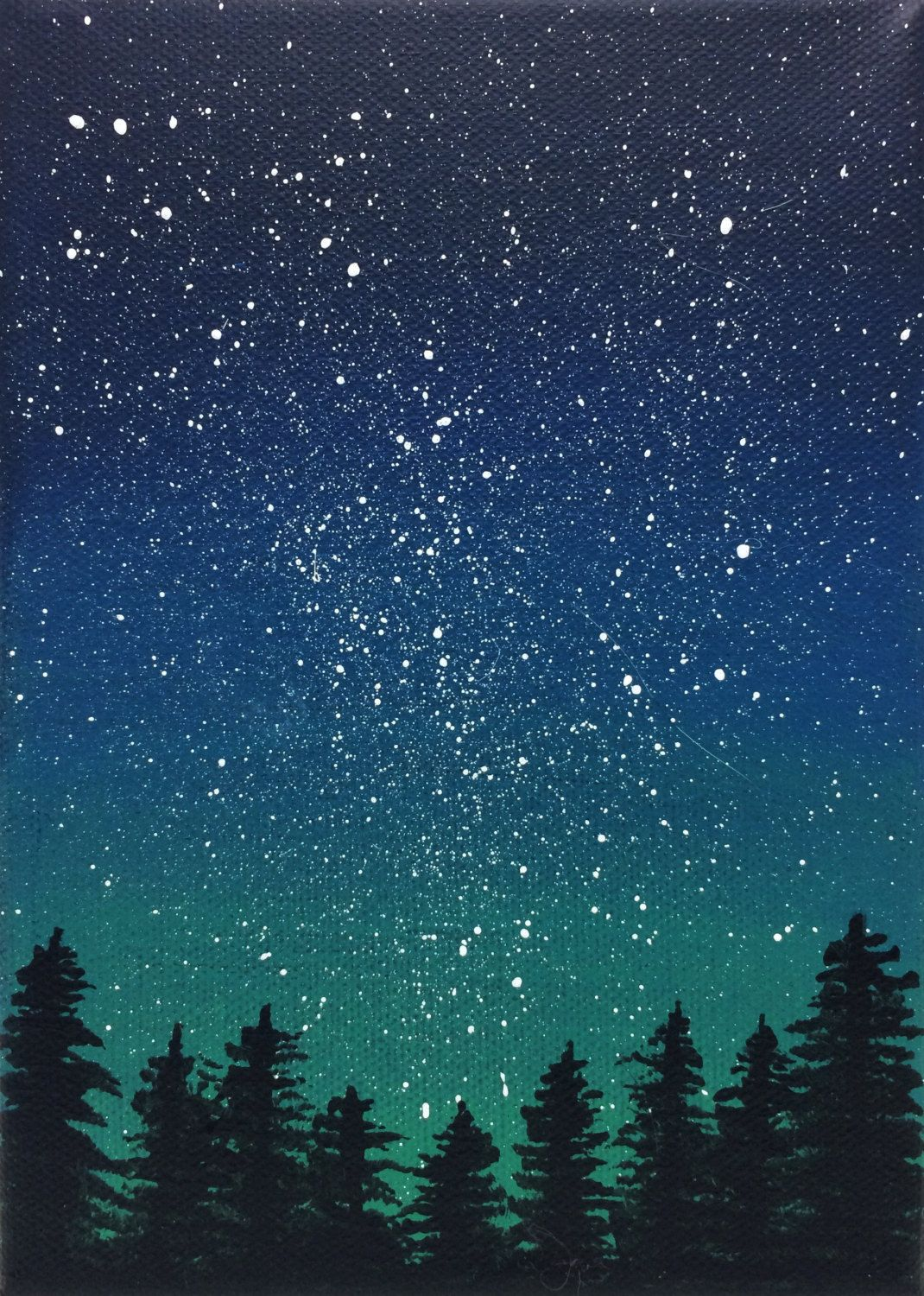 This Stunning Night Sky Scene A Perfect Addition To A