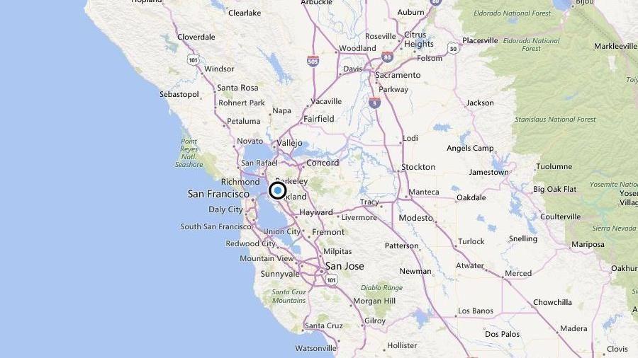 Earthquake Strikes San Francisco Bay Area Angels Camp San Francisco Bay Area San
