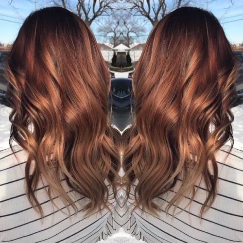 25 Best Auburn Hair Color Shades Of 2020 Are Here Color Melting Hair Hair Color Auburn Brown Hair Dye