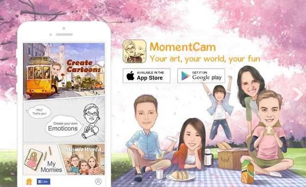 Download Aplikasi Edit Foto Jadkarikatur Kartun Momi Entcam Aplikasi Karikatur Lucu