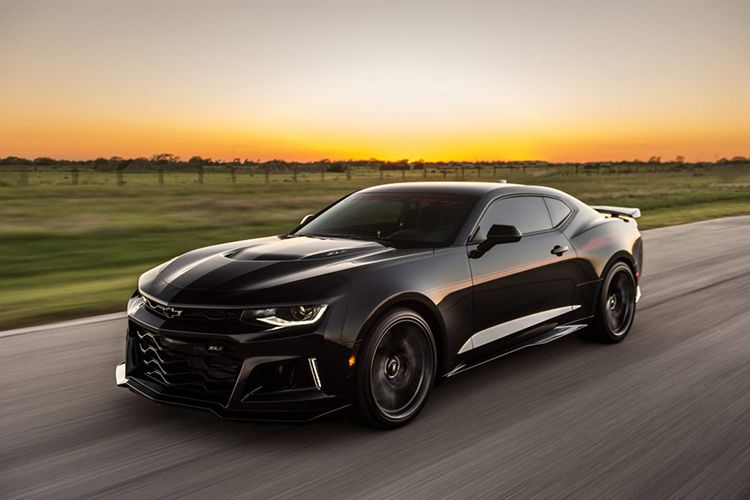 This Camaro Zl1 Modified By Hennessey Performance Will Spin Your