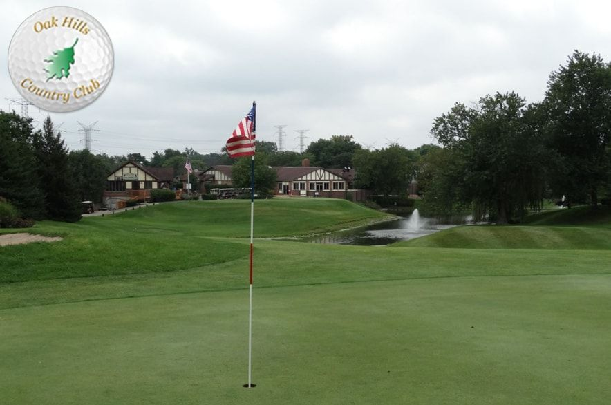 Shot Of The Day Illinois Oak Hills Country Club 9 Holes With Cart Aug 2018 Ranked As The 1 Nine Hole Golf Course By Orland Park Oak Hill Hill Country