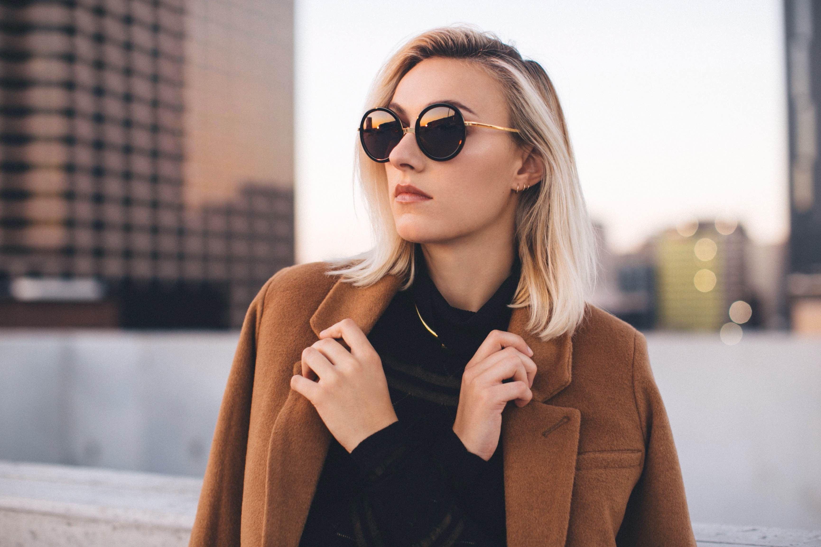 LOUISA | Black 24K // 2016 sunglasses for women