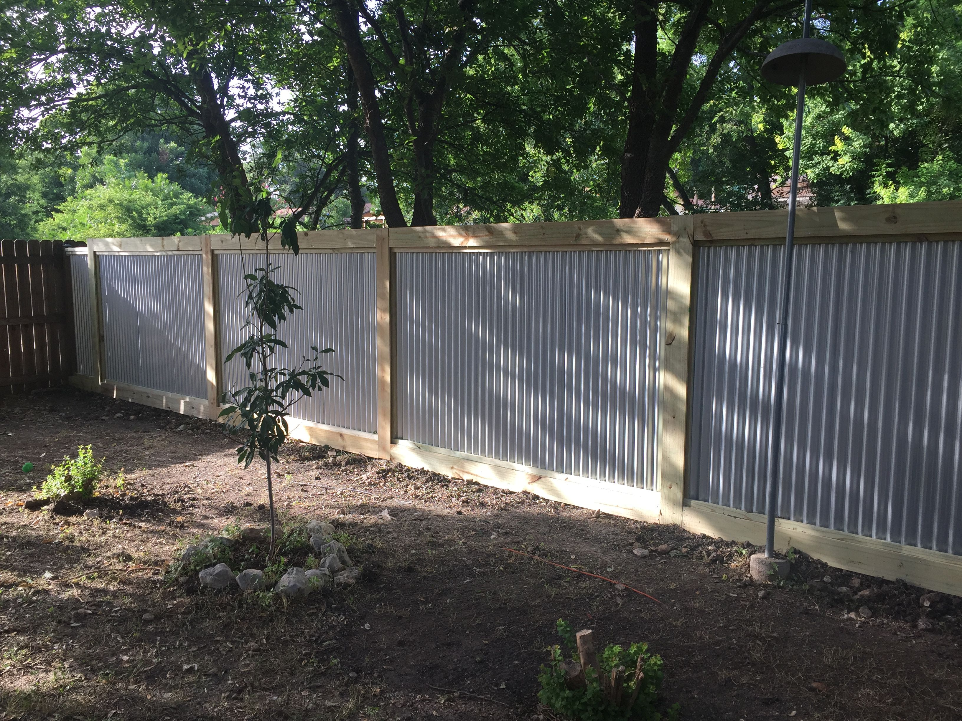 Pin By Thomas Sanders On Corrugated Metal Fence In 2018 Pinterest