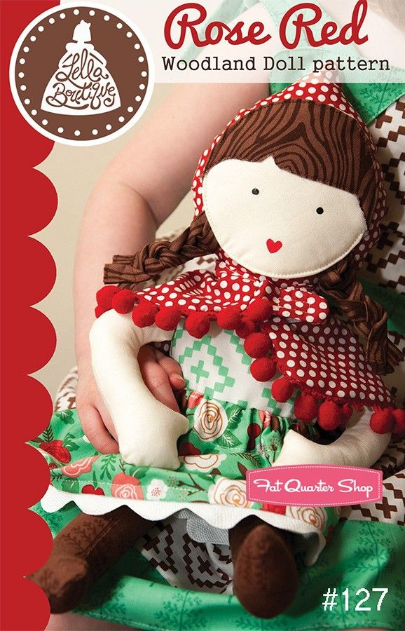Rose Red Doll Pattern - Lella Boutique