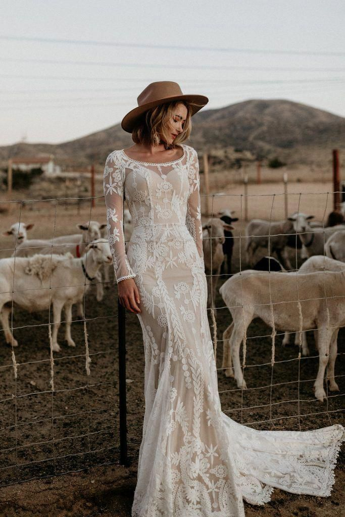 Mermaid Wedding Dress For Aire Boho Collection 2020 in