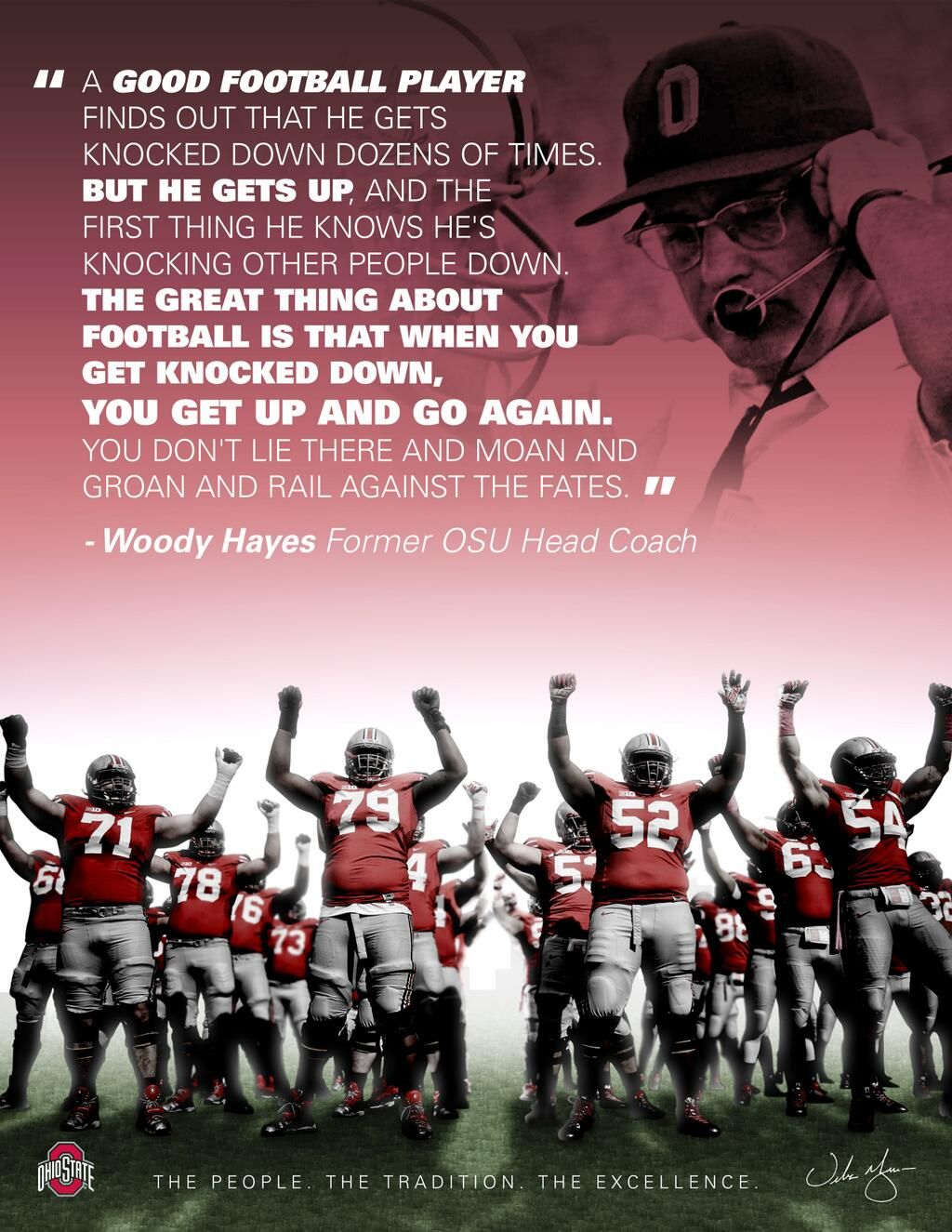 Ohio State Coach Woody Hayes - history, famous quotes, all time