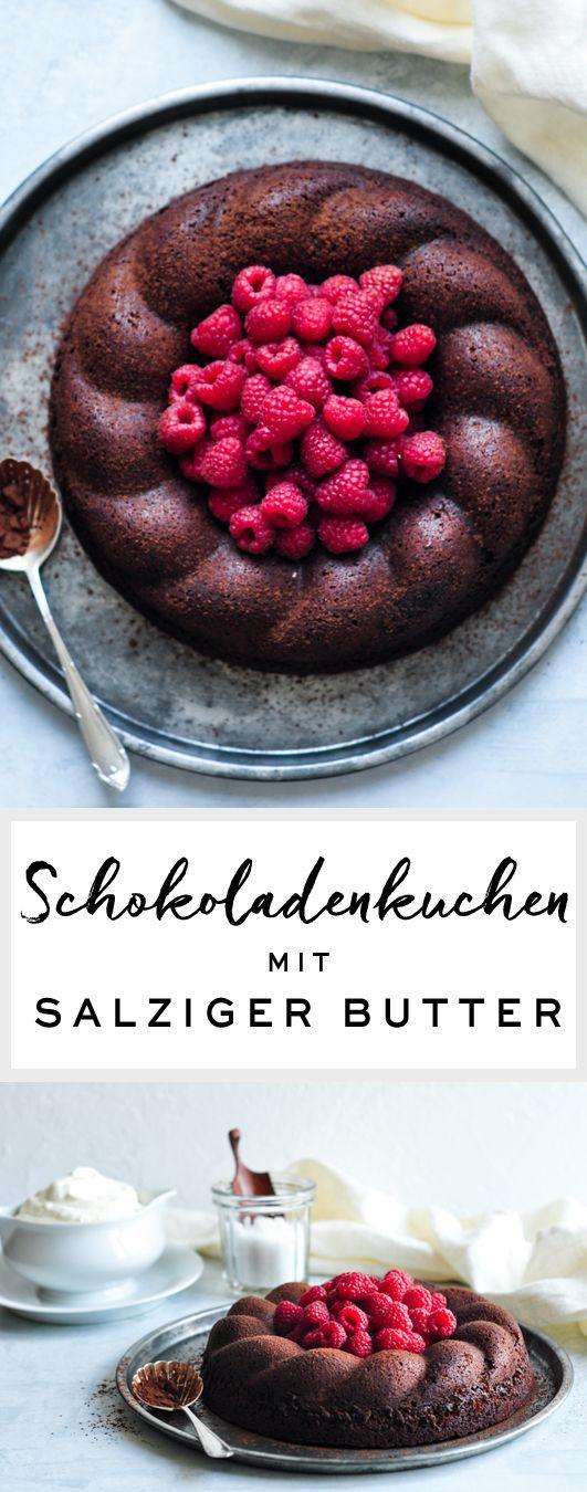 salted butter chocolate cake rezept rezepte pinterest schokoladen kuchen kuchen schoko. Black Bedroom Furniture Sets. Home Design Ideas