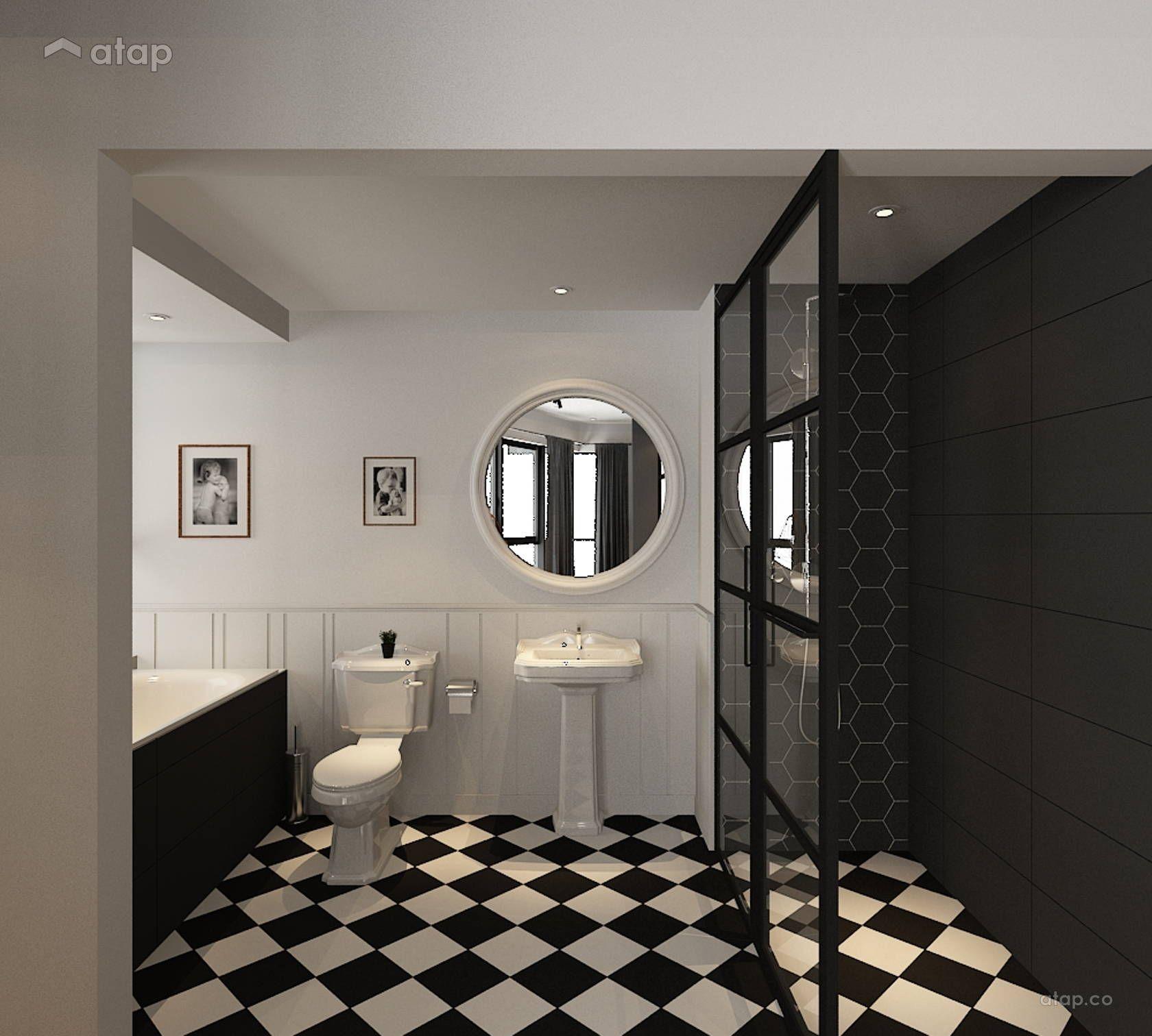 Home Design Ideas Malaysia: Minimalistic Bathroom Condominium Design Ideas & Photos