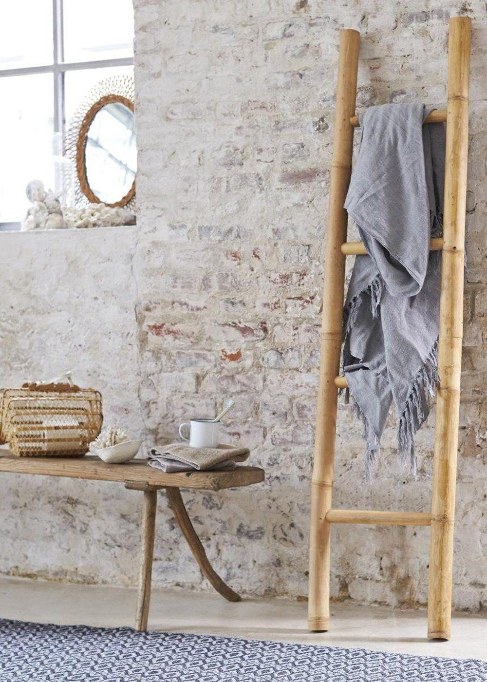 8 Idees Deco Pour Une Nouvelle Salle De Bains Salle De Bain En Bambou Deco Salle De Bain Porte Serviette Bambou