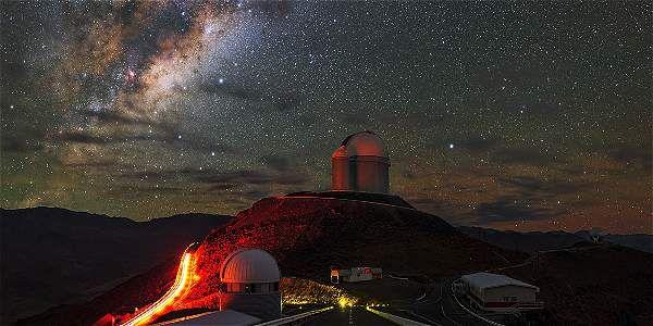 La Silla fue el primer observatorio que construyó ESO en Chile.