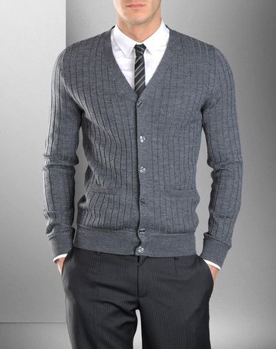 ملابس انيقة للرجال Fashion Cardigan Sweaters