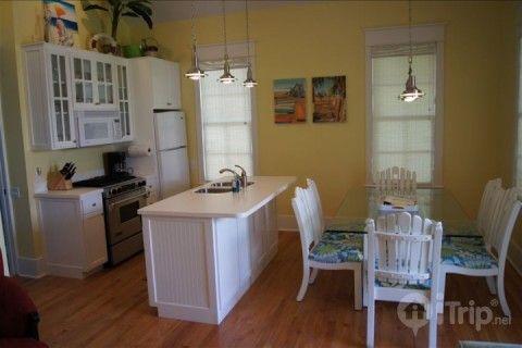 This cozy kitchen awaits you in South Walton.