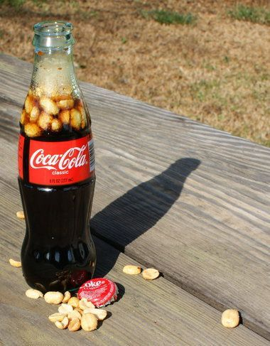 Rc cola and peanuts