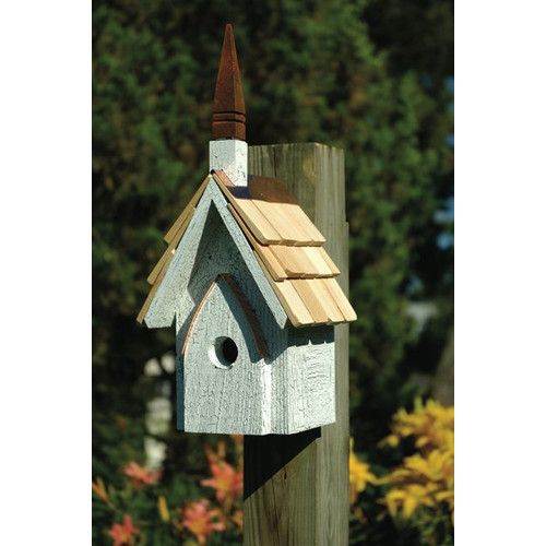 Heartwood Classic Chapel Birdhouse