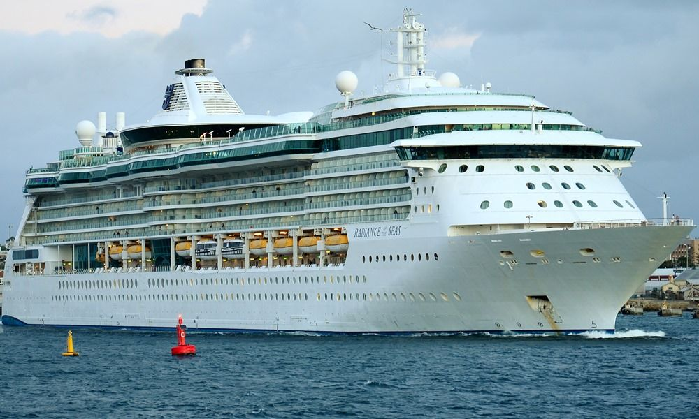 Radiance Of The Seas cruise ship itinerary schedule, 2019