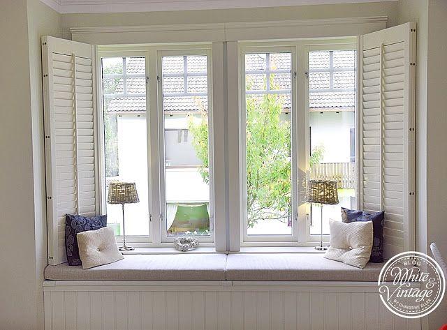 Deko, Wohn- und DIY Blog - White and Vintage GREENVILLE - deko fenster wohnzimmer