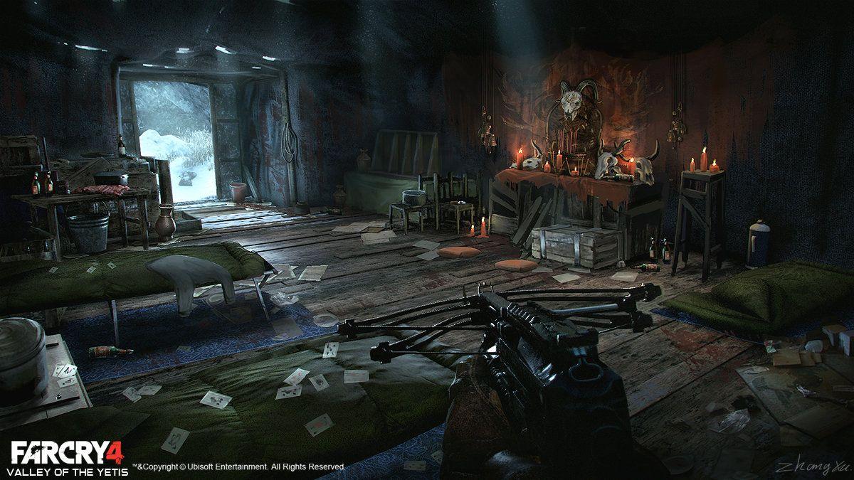 Far Cry 4 Dlc Valley Of The Yetis Concept Art Xu Zhang 배경