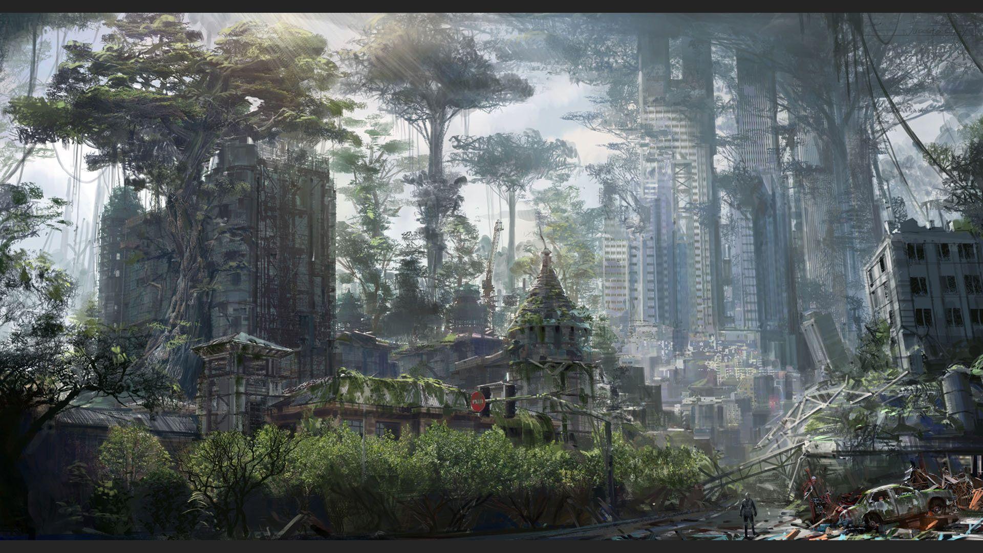 artstation - aftermath, concept 4 | desolate locations | pinterest