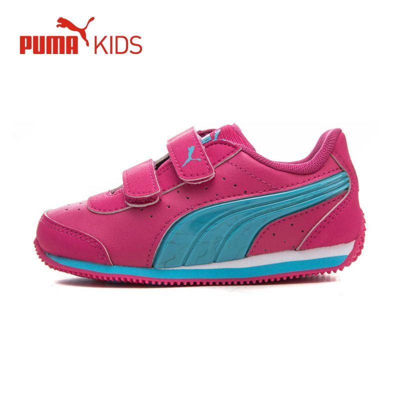 750172f83 PUMA Kids Niños Zapatos Niños Niñas Paillette Luminosa VELOCIDAD LUZ UP V  Del Bucle Del Gancho