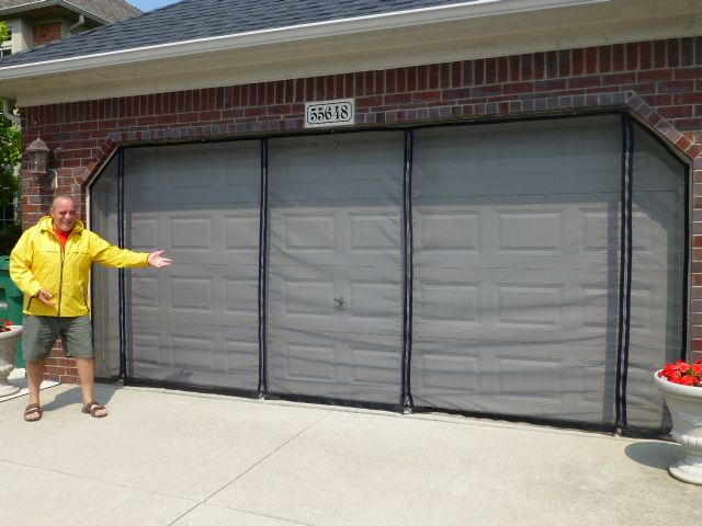 Garage Door Screens Garage Doors Garage Screen Door Diy Screen Door